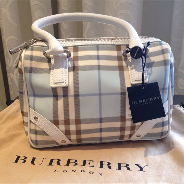 Authentic Burberry Bluebell Bag