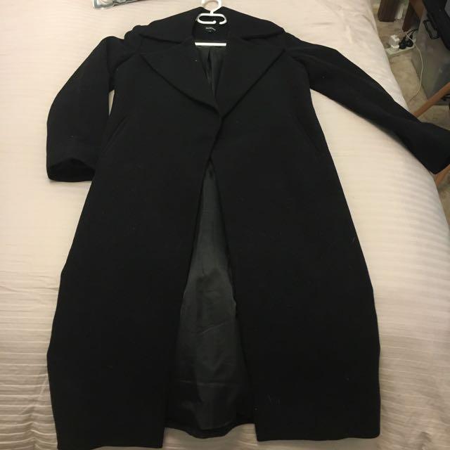 Black Coat Size 8