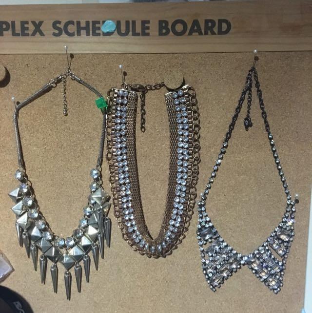 Bundle of Collar necklaces