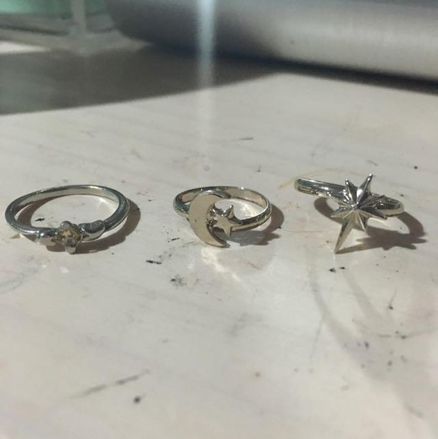 Bundle of midi rings