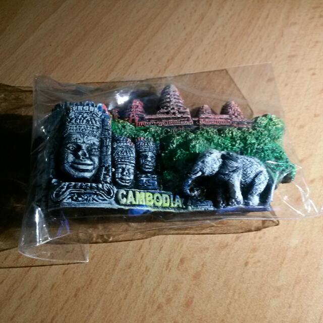Cambodia Fridge Magnet