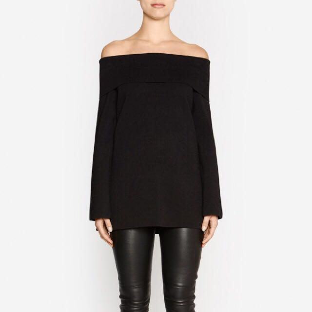 Camilla & Marc Doumo Off Shoulder Top **sold out everywhere**