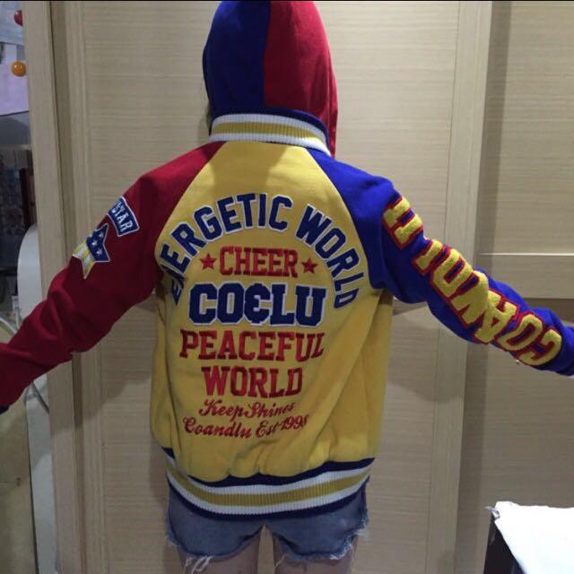Cocolulu彩色棒球外套(含運)