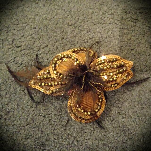 Decorative Hair Clip (brown)