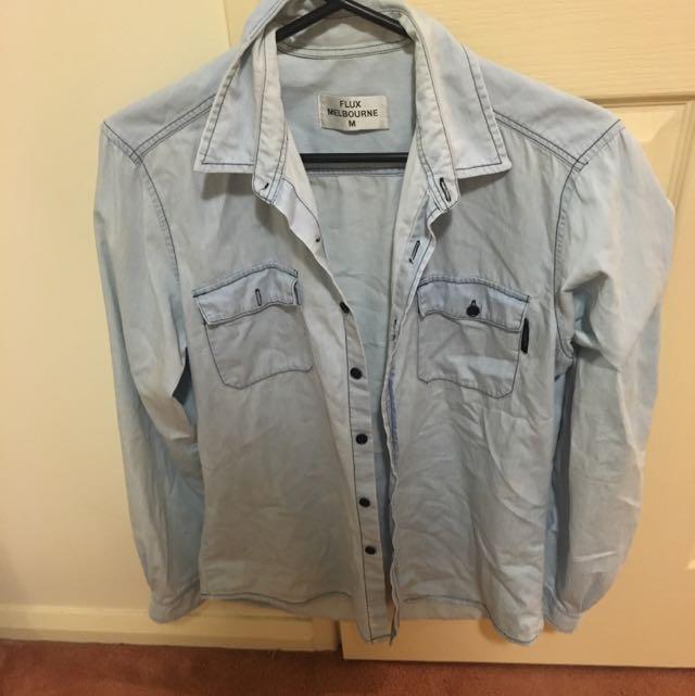 Flix Melbourne Jean Shirt Size M-12