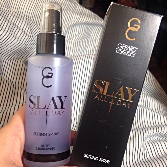 Gerard Cosmetics Slay All Day Setting Spray - Lavender