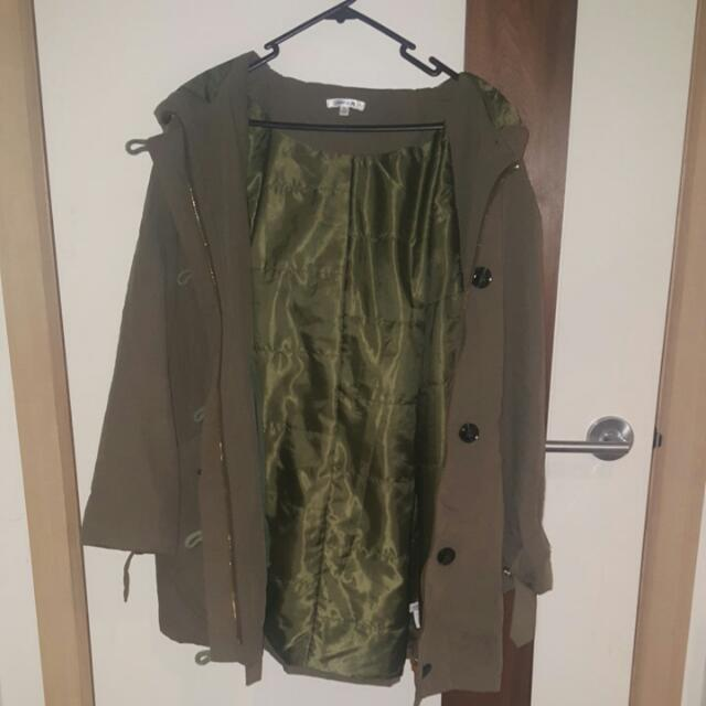 GREEN KHAKI JACKET