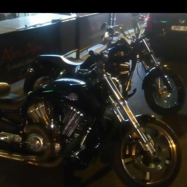 Harley Davidson, V-rod Muscle 2009