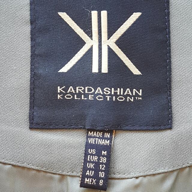 Kardashian Kollection Dress Jacket Sz 10