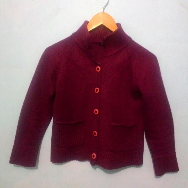 Liant Maroon Sweater