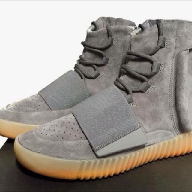 Light Grey Adidas Yeezy 750 Boost