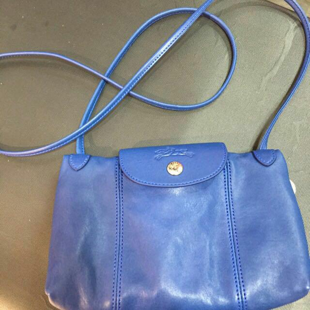 3f8156f6fcf9 Authentic  Longchamp Le Pliage Cuir Crossbody Bag