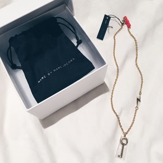 Marc By Marc Jacobs Gold Necklace