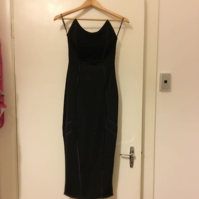 Micha Collection Black Dress Size S