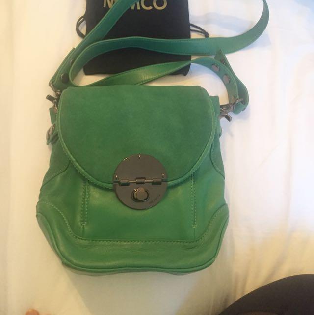 Mimco Emerald Hip Pouch (Adjustable Strap)