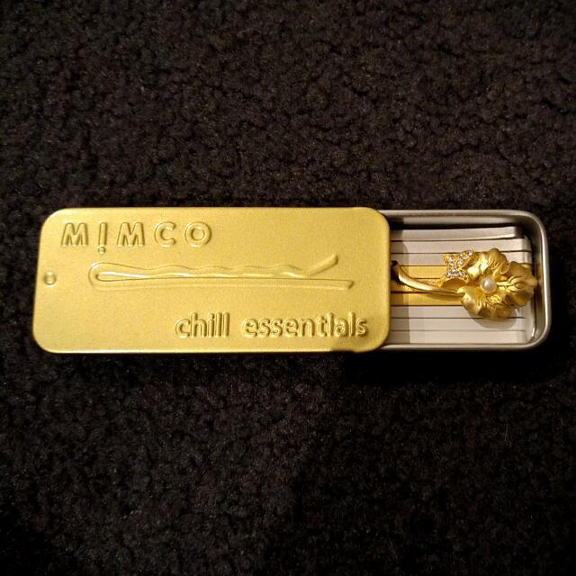 Mimco Hair Pin Set - Gold & Silver. New!