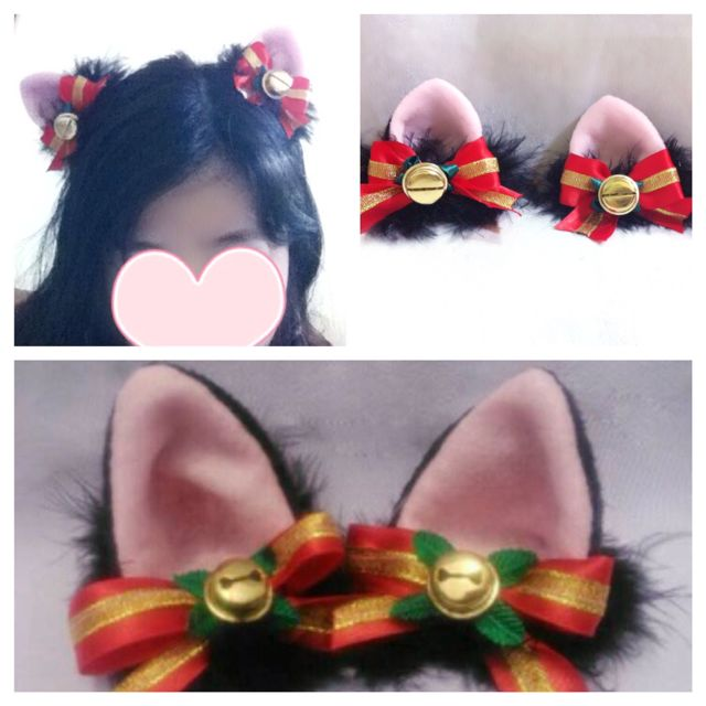 mini cat ear bell
