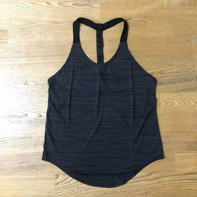 Nike 女生運動背心 二手 M號 混灰色