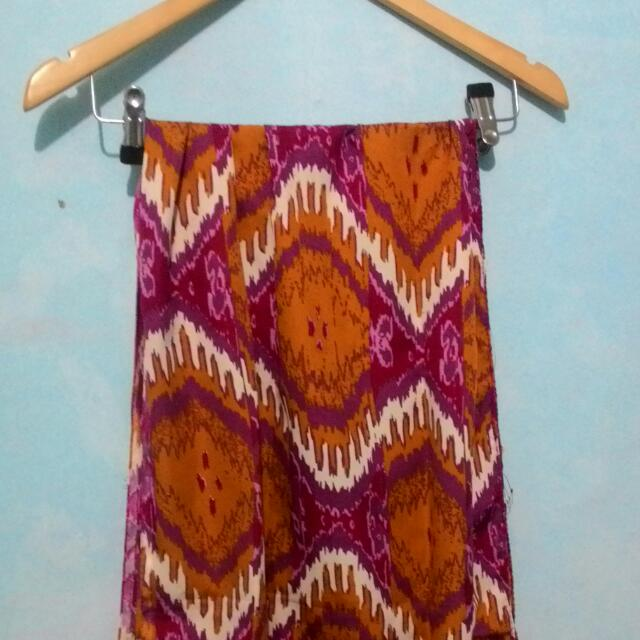 Pashmina Tribal Yellow Pink