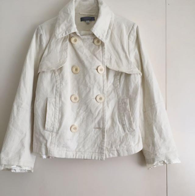 ❄️Pea Jacket/Coat (double Breasted Waist Length)