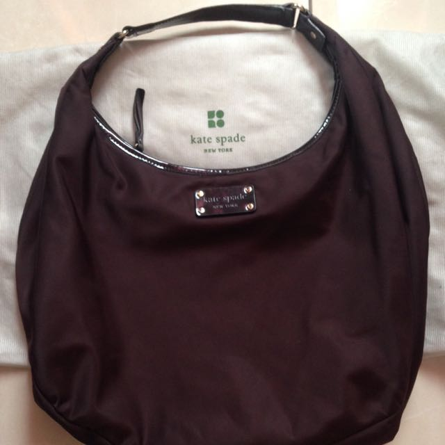 PRELOVED Kate Spade Brown Hobo Bag