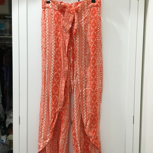 Red Hippie Pants