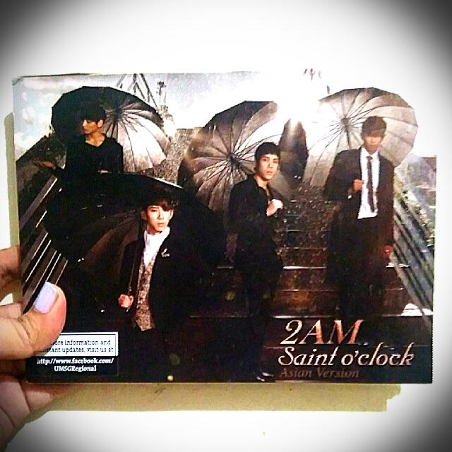 Saint O'Clock (Asian Version) - 2AM