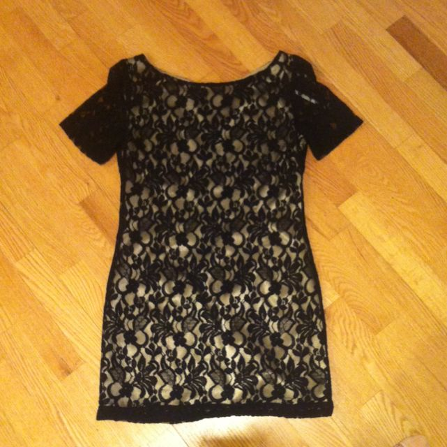 Size 10 Black Lace Dress