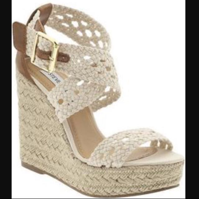71e6251984a2 Steve Madden Haywire Wedge Sandals (size 8)