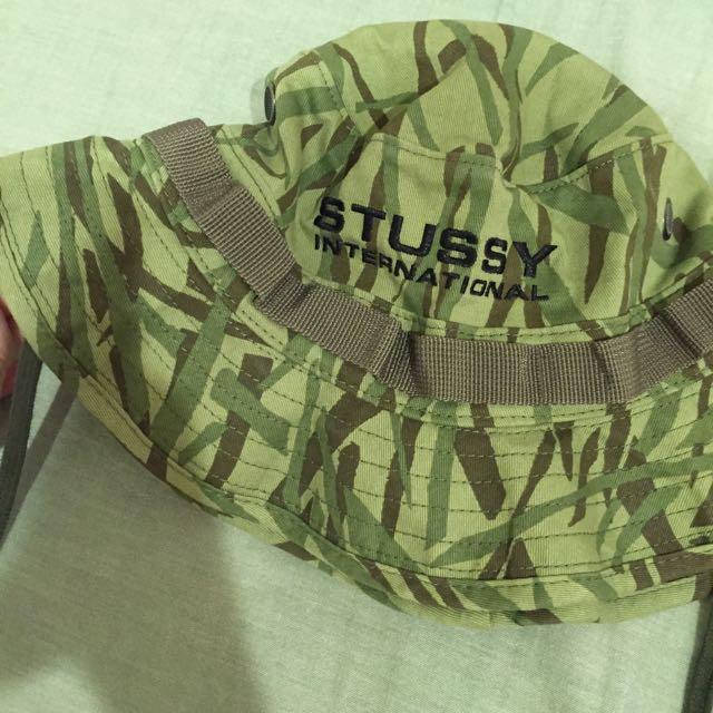 全新轉賣stussy 迷彩漁夫帽