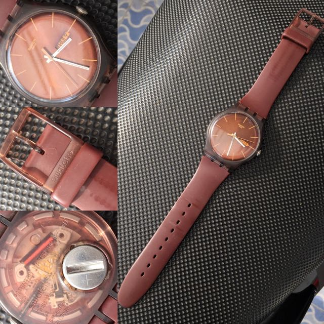 SWATCH ORIGINAL!!! Cacao Rebels Brown