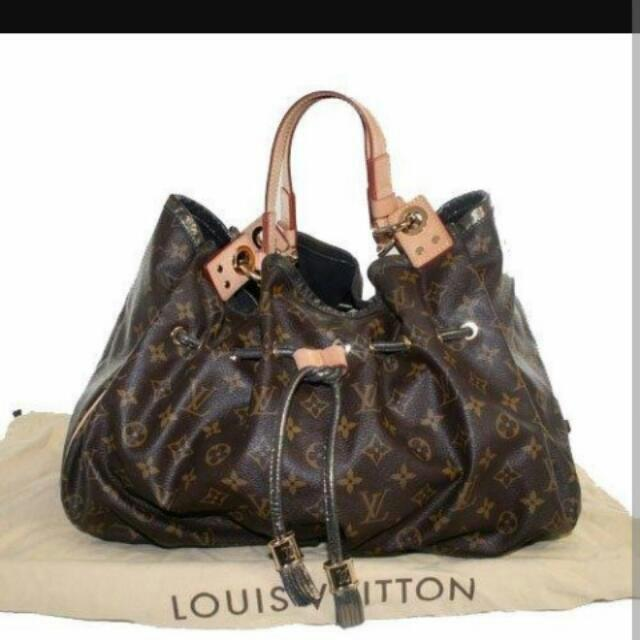 Vintage 2009 Louis Vuitton Limited Edition Irene Runway Bag & Limited Edition Ostrich Skin Strapped Louis Vuitton Theda **Very Rare**