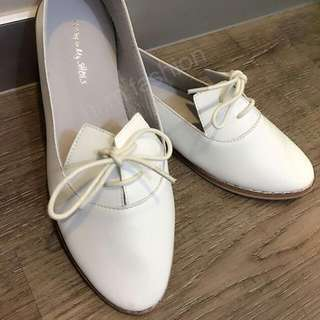 韓國牛皮紳士鞋