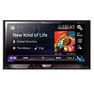 Pioneer AVH-X8650BT In-Dash Double-DIN DVD Multimedia Audio Player