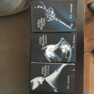 50 Shades Of Grey Trilogy