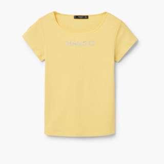 MANGO Cotton Tshirt