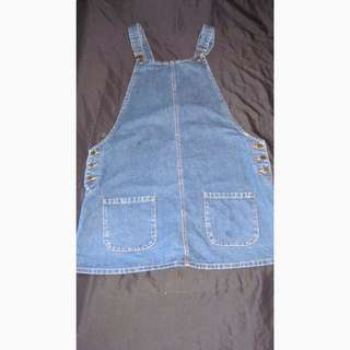 Denim Dress Overalls