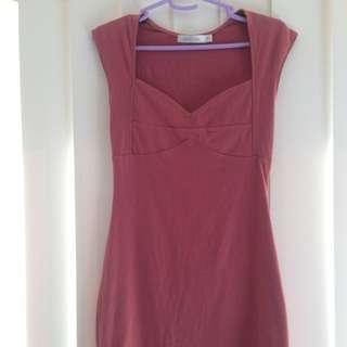 Maroon MinkPink Dress, Size M