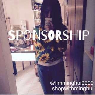 Sponsorship Repost