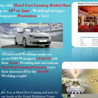 Wedding event hotel Fort Canning 11th june 2016