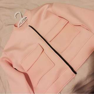 Pink Big Pocket Jacket