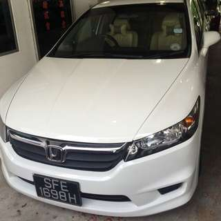 CHEAP CAR 7SEAT FOR UBER GRAB RENTAL  HONDA STREAM AUTO RENT EXCELLENT FUEL ECONOMY