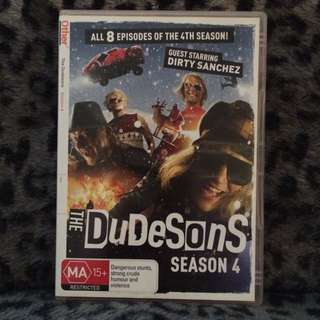 The Dudesons Season 4 DVD