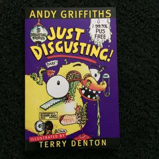 Andy Griffiths 'Just Disgusting' Book
