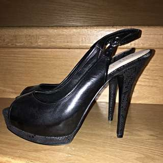 GUESS Leather High Heels