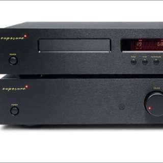 Exposure 2010S2 CD player and integrated amplifier