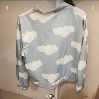 歐美款雲朵外套