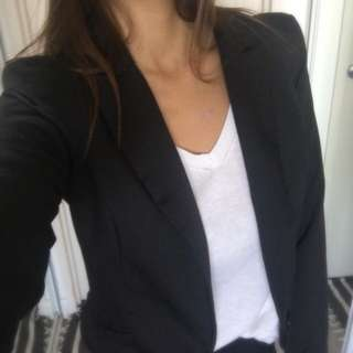 Showpo Black Blazer