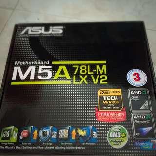 M5A78L-MLX V2 + AMD FX-4300 Quadcore Processor