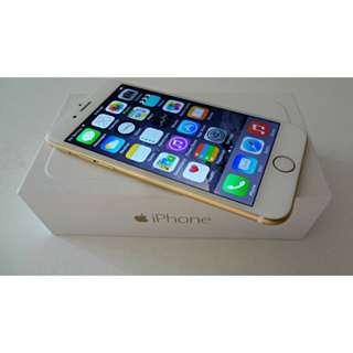 64GB Gold iPhone 6